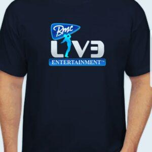 bmcliveentertainment t shirt